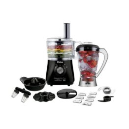 Processador All in One 1,2L + Liquidificador 1,5L + Espremedor de frutas 800W - Philco