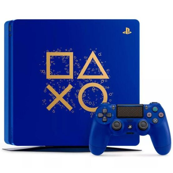 Sony Playstation 4 Slim Days of Play Blue Limited Edition